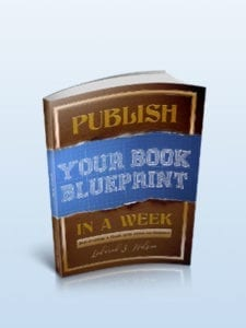 Publissh Your book Blueprint included in DIY Publish a Book Kits