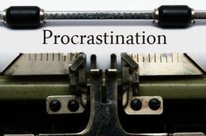 overcoming writing procrastination