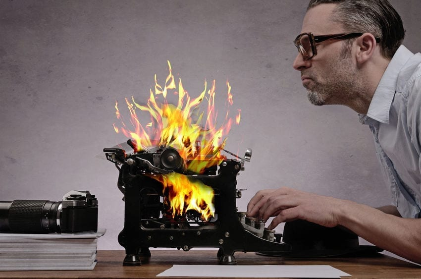 33 Writing Hacks for Those Craving to Publish: Writing Hack #6 Write Recklessly by Deborah S. Nelson