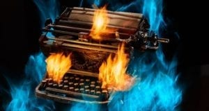 Typewriter on Fire demonstrates the level of reckless and insprired writing Deborah S. Nelson and Publishing SOLO teaches